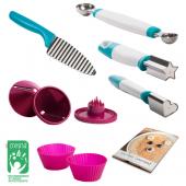 Набор кухонных принадлежностей для нарезки Babymoov Petit Gurmand (7 предметов)