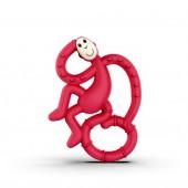 Игрушка-прорезыватель Matchstick Monkey Маленькая Танцующая Обезьянка (цвет красный, 10 см)