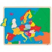 """Пазлы """"Карта Европы"""""""