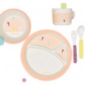 Набор посуды для кормления Peach Babymoov