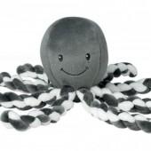 Мягкая игрушка Nattou Lapiduo Octopus Серый