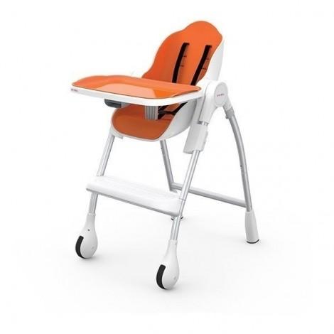 Стульчик для кормления, цвет оранжевый