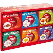Apli Kids™   Набор тесто для лепки: Морской мир, 12 шт., Испания