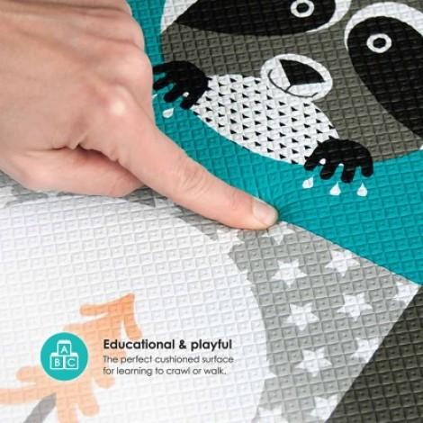 Двухсторонний игровой коврик в детскую bbluv™ Mülti Плитка  (арт. B0130)