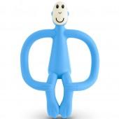 Игрушка-прорезыватель Matchstick Monkey (цвет голубой, 10,5 см)