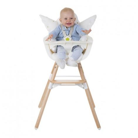 Мягкий вкладыш в стульчик для кормления Childhome ANGEL JERSEY GOLD DOTS