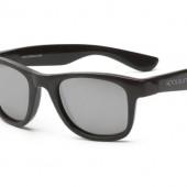 Детские солнцезащитные очки Koolsun Wawe черные (Размер 1+)