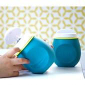Мягкий детский поильник Baby Squeez 2 в 1, blue, Beaba