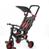 Трехколесный велосипед Galileo STROLLCYCLE чёрная рама Красный
