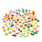 Игровой набор Tasty Treat Pretend Food Set Kidkraft 115 предметов